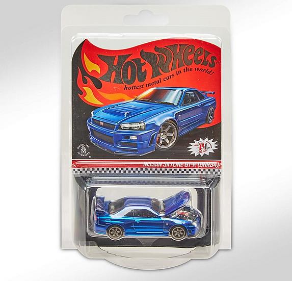 2019 Hot Wheels RLC '01 Nissan Skyline GT-R [BNR34]