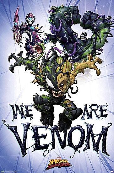 Marvel Comics TV Spider-Man Maximum We Are Venom Wall Poster