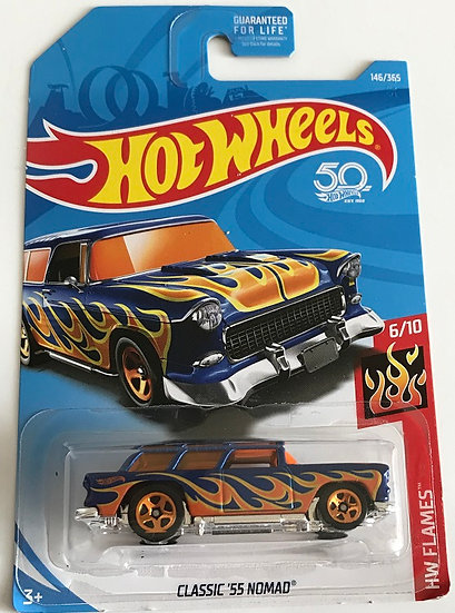 Hot Wheels Flames Classic '55 Nomad 6/10