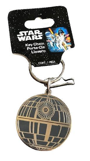 2014 Star Wars Death Star Keychain By Plasticolor