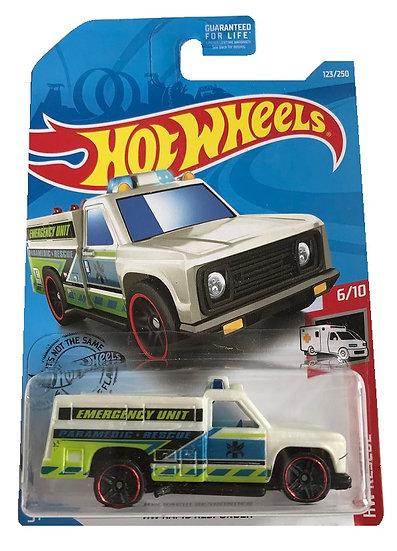 Hot Wheels HW Rescue HW Rapid Responder [Damaged Bubble]