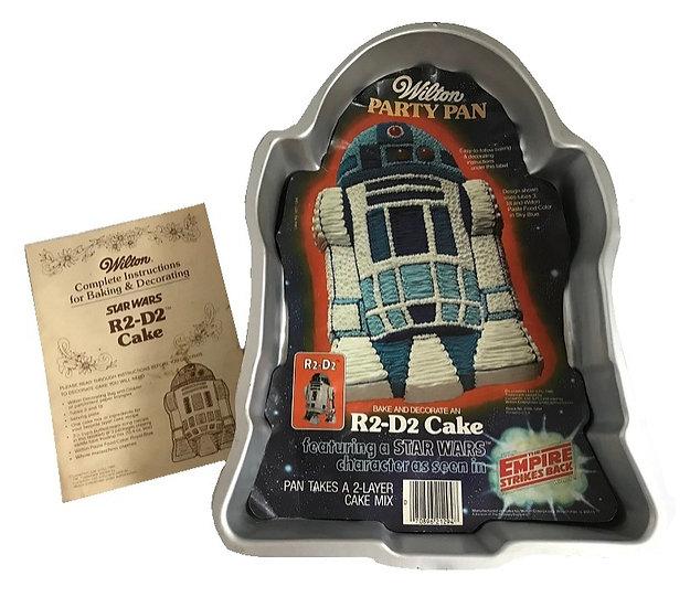 1980 Vintage Wilton Star Wars R2-D2 Cake Party Pan