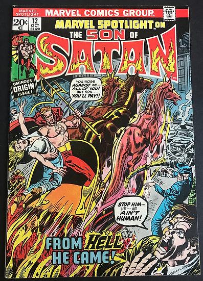 Marvel Spotlight 12 VF [1st Son Of Satan]