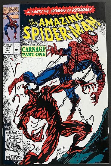 Amazing Spider-Man (1963 1st Series) #361A VF+