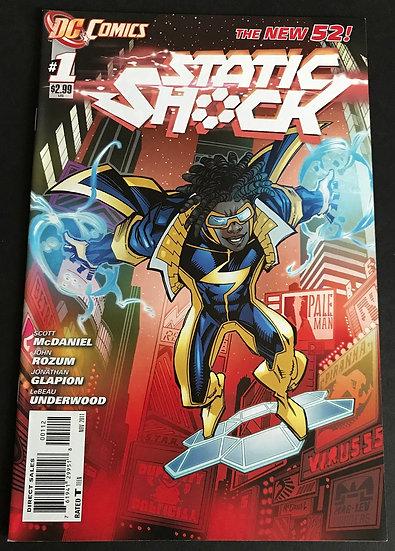 Static Shock (DC) #1 VF/NM