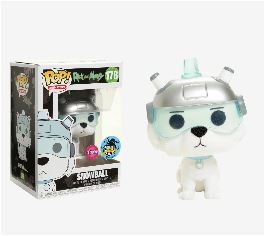 Rick And Morty Snow Ball Flocked 178 LA Comiccon Exlusive