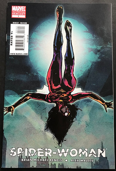 Spider-Woman (Marvel 4th Series) #1 VF/NM [2nd Printing]