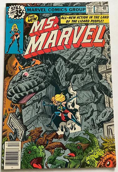 Ms. Marvel (Marvel) #21 VF
