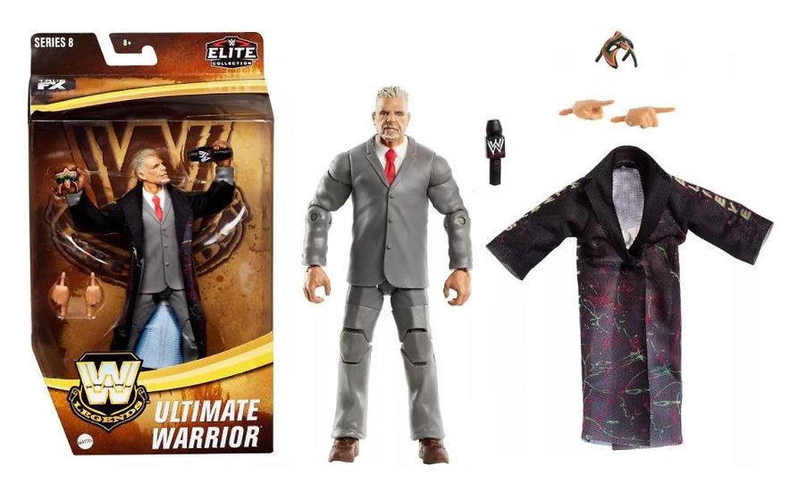 WWE Legends Elite Collection Series 8 Ultimate Warrior Wrestling Figure