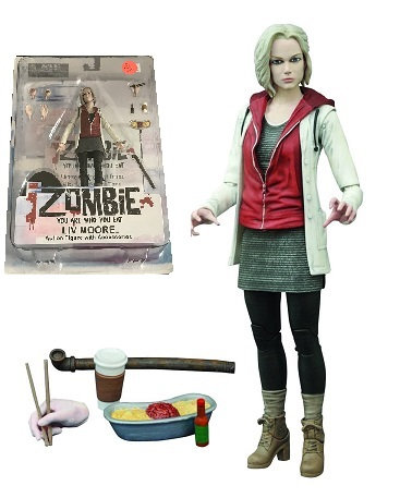 iZombie You Are Who You Eat Liv Moore Action Figure With Accessories