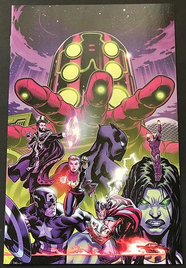 Avengers (2018 8th Series) #2B [ Mcguinness Variant NM 1:100]
