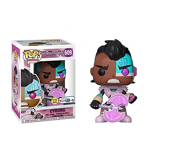 Teen Titans Go Cyborg 609 [Glow In The Dark] Toys R Us Exclusive
