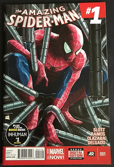 Amazing Spider-Man (Marvel) #1 NM [2nd Print]