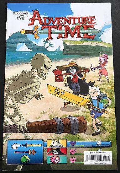 Adventure Time (2012 Kaboom) #51A NM-