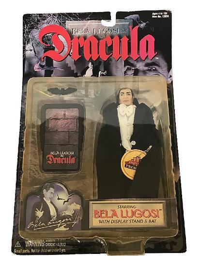 1998 Bela Lugosi As Dracula With Display Stand & Bat Figure