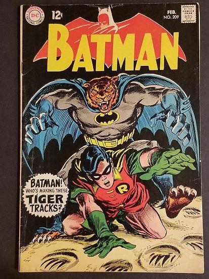 Batman (1940) #209 FN