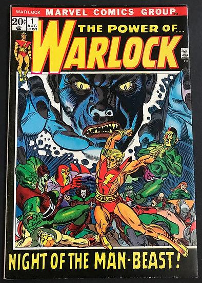 Warlock (1972 Marvel 1st Series) #1 VF/NM- [1st Warlock in solo titles series.]