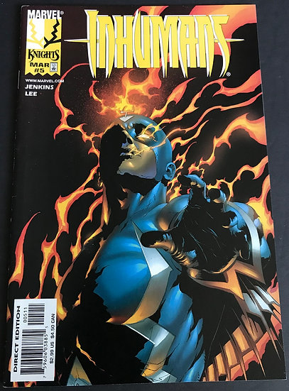 Inhumans (1998 2nd Series) #5 VF