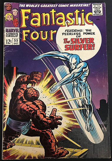 Fantastic Four 55 FN [Marker Top Of Back]