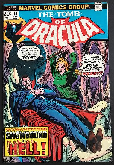 Tomb of Dracula (1972 1st Series) #19 NM