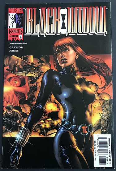 Black Widow (Marvel) #1 VF-