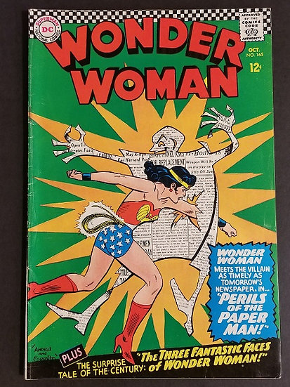 Wonder Woman (1942 1st Series DC) #165 FN+