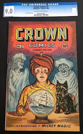 Crown Comics (1944) #2 VF/NM