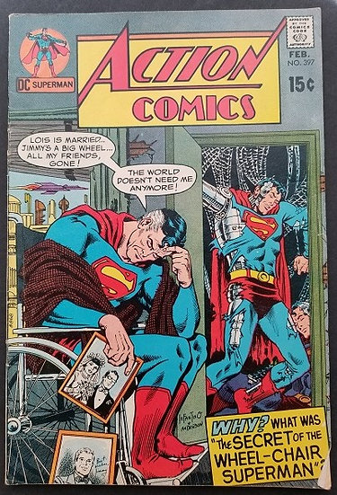 Action Comics (1938 DC) #397 VG