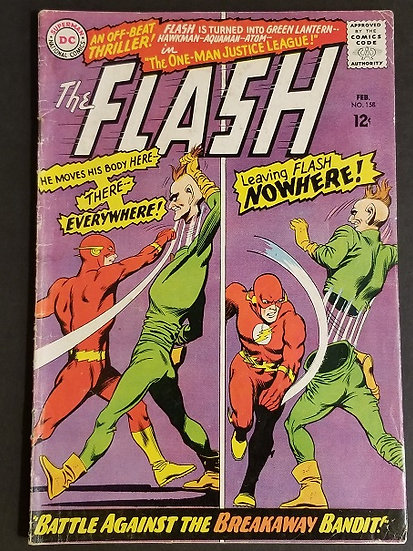 Flash (1959 1st Series DC) #158 VG