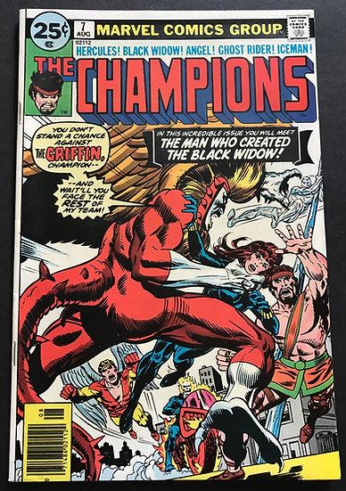 Champions (1975-1978 Marvel 1st Series) #7 NM