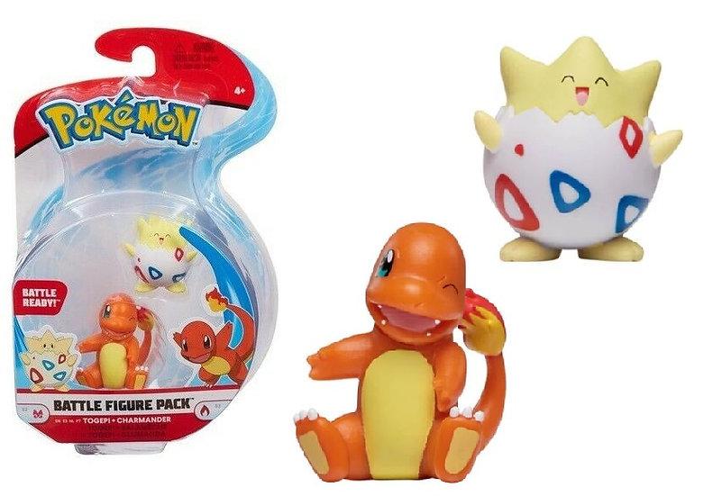 Pokemon Battle Figure Pack Togepi And Charmander Mini Figure