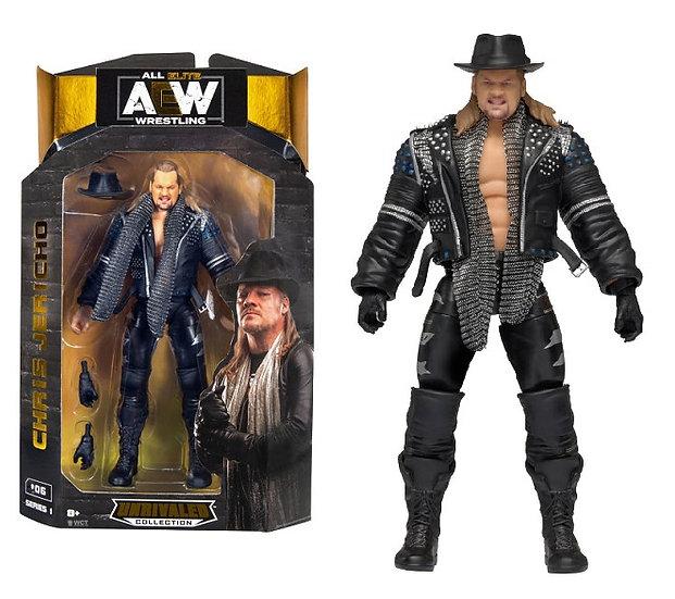 AEW Unrivaled Series #1 Chris Jericho Wrestling Figure
