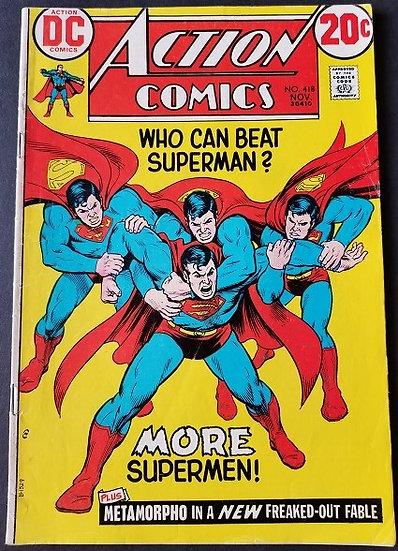 Action Comics (1938 DC) #418 FN