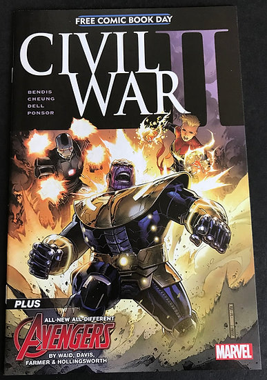 Civil War II (Marvel) #1 [Free Comic Book Day 2016 Edition]