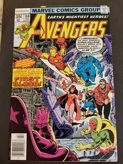 Avengers (Marvel ) #168 NM [Guardians of the Galaxy appearance.]
