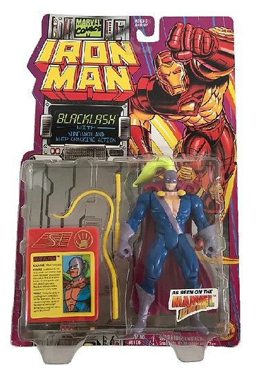 1994 Marvel Comics Iron Man Backlash Figure By Toy Biz