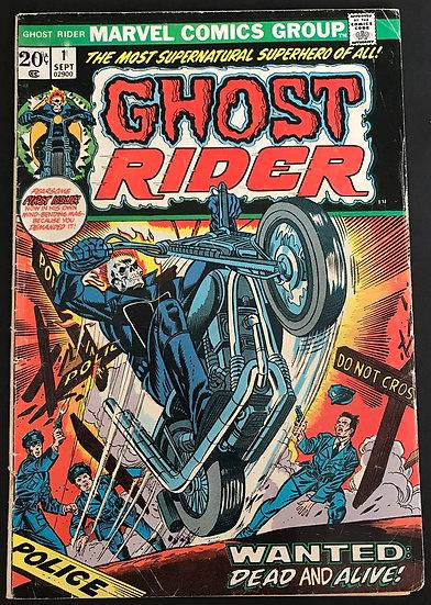 Ghost Rider (1973 1st Series) #1 VG/FN