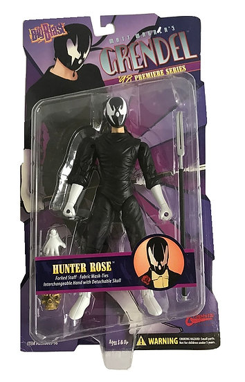 1998 Vintage Matt Wagner's Grendel '98 Premiere Series Hunter Rose Action Figure