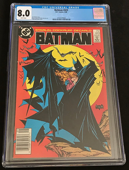 Batman #423 (DC) CGC 8.0 White Pages