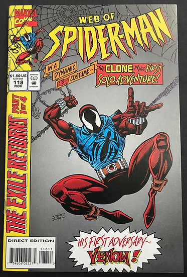 Web of Spider-Man (1985 1st Series) #118 NM