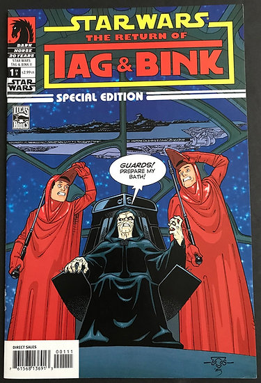 Star Wars Tag and Bink II Special Edition (2006) #1 NM-
