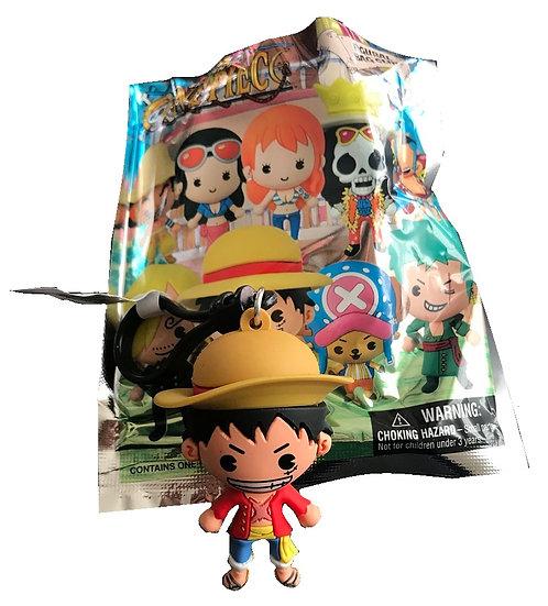 Shonen Jump One Piece Luffy 3-D Figural Bag Clip