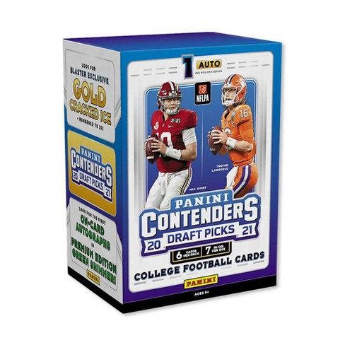2021 Panini NFL Contenders Draft Picks Trading Cards Blaster Box