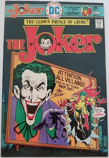 Joker (1975 DC) #3 VF/NM
