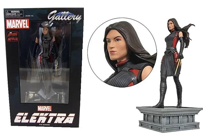 Marvel Daredevil Elektra PVC Diorama Gallery Statue - New Open Box