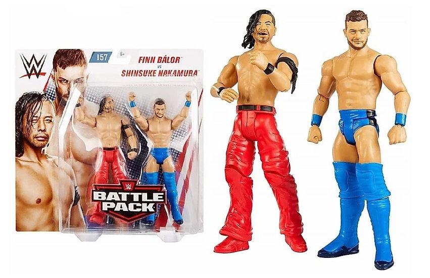 WWE Battle Pack Series 57 Finn Balor VS Shinsuke Nakamura Action Figure 2 Pack