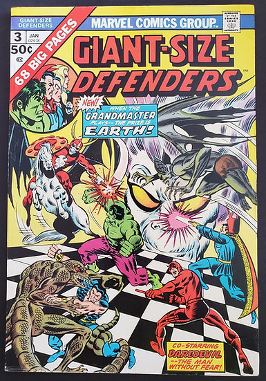 Giant Size Defenders (1974) #3 FN