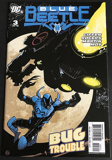 Blue Beetle (DC 2nd Series) #3