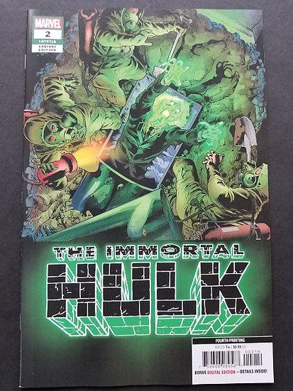 Immortal Hulk (2018) #2E 4th Printing NM-
