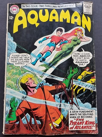Aquaman (1962 1st Series) #14 GD